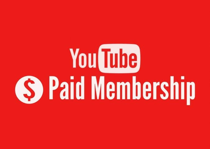 youtube paid membership